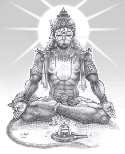 The Power of Hanuman: Accessing The Superman Within You