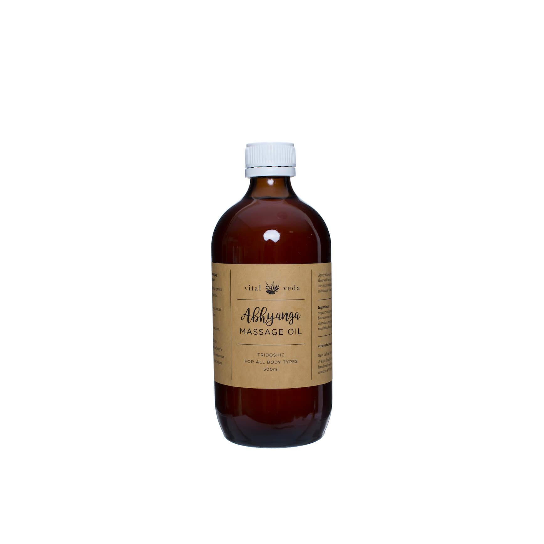 Abhyanga Massage Oil (sesame based) 500ml
