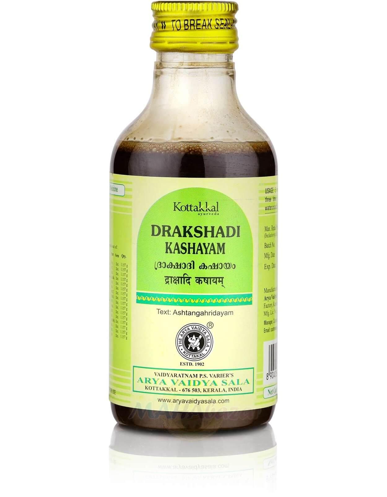 Drakshadi Kashayam