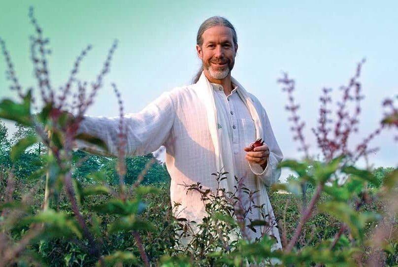 Bharat Mitra in a Field