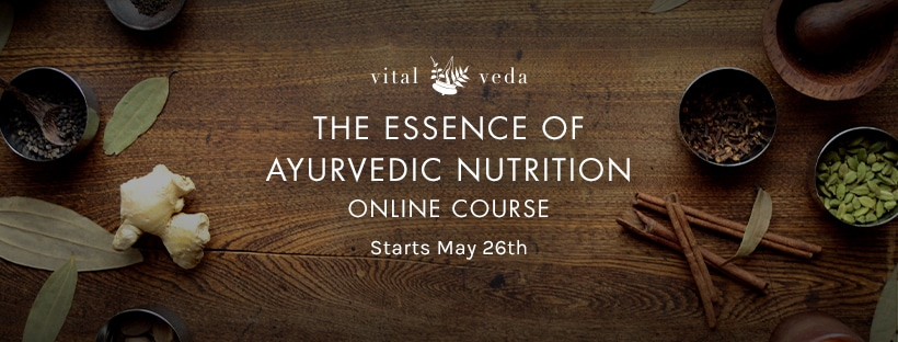The Essence of Ayurvedic Nutrition Online Course - Banner