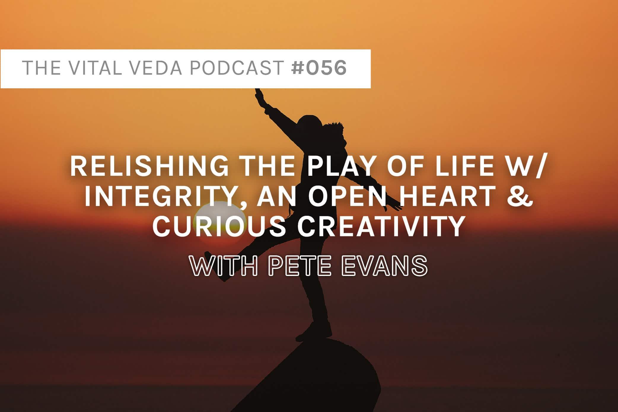 Pete Evans' Podcast Banner